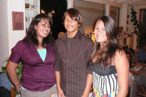 Nina, Alex, and Sara